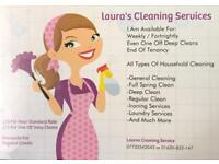 LAURA'S CLEANING SERVICE'S