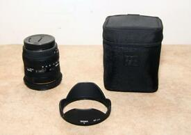 Sigma 10-20mm f4-5.6 EX DC HSM lens Canon fit.
