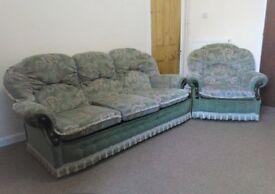 3 + 1 Sofa Settee