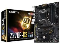 Gigabyte GA-Z270P-D3 Motherboard - Intel LGA 1151 DDR4 USB 3.1 PCI-E 3.0