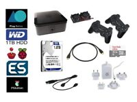Retro Gaming Console, over 1000 PlayStation 1 Games & over 25000 games from other platforms 1TB HDD