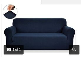 Navy Blue Sofa Covers