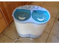 Royal Twin Tub Washing Machine for Camping or Student