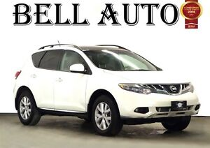 2011 Nissan Murano SL AWD LEATHER SUNROOF ALLOYS  BACK UP CAMERA
