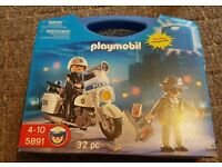 PLAYMOBIL: 5891 police bike and robber