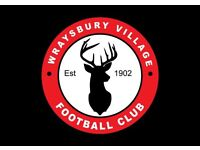 Wraysbury Village Football Club, looking for players