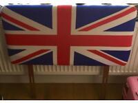 Union Jack single headboard