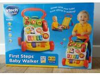 BNIB Vtech Baby First Steps Baby Walker