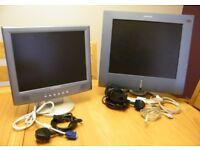 Advent Computer Monitors x2