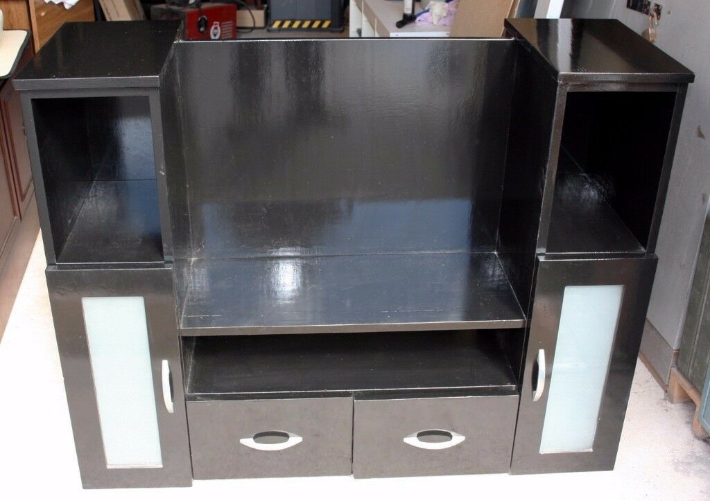 Black TV/Display unit - easy repainting project