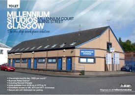 3 Workshops Remaining To Let with Car parking