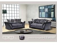 %%%dfs shannon 3+2 BRAND NEW SOFA CUDDLE CHAIR AVAILABLE