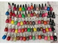 80 nail polish gel polish bundle job lot ALL BRAND NEW