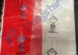 Asbestos bags 900 x 1200mm heavy duty