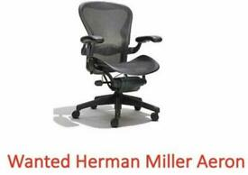 Herman Miller Chairs Wanted