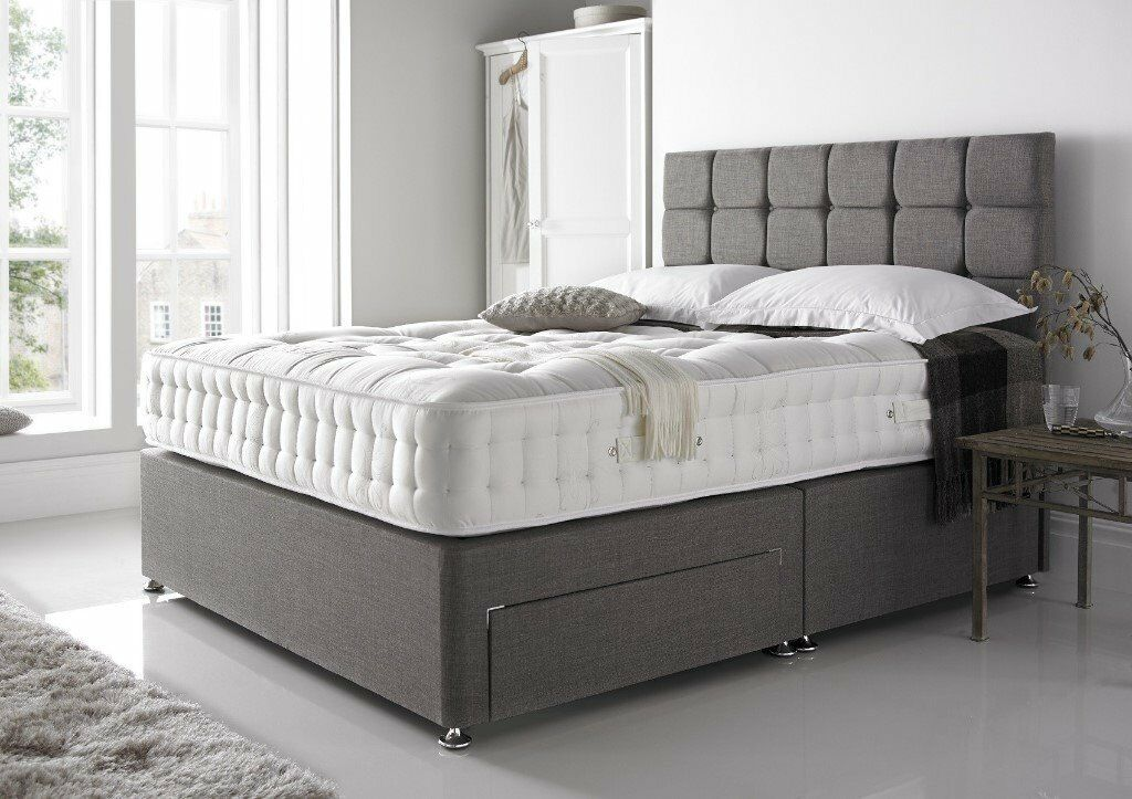 Sameday Delivery Premium Quality Solid Wood Timber Divan Bed