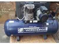Fiac air compressor 150 litres