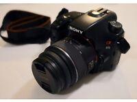 Sony DSLR Camera - Alpha 65 A-Mount Camera with APS-C Sensor (18 - 55 mm Zoom Lens)