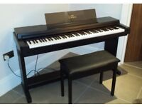 Yamaha Clavinova CLP-650 Electric Digital Piano 88 Key Full Size 3 Pedal Keyboard