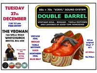 TUESDAY 27th DECEMBER - 60s 70s SOUL / REGGAE / MOTOWN / SKA with DOUBLE BARREL – WHITCHURCH