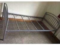 Free …3ft Metal Frame Single Bed