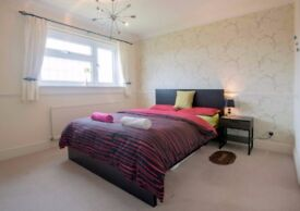 Double bedroom with private ensuite in a house