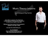 Music Theory Tuition - Liverpool City Centre