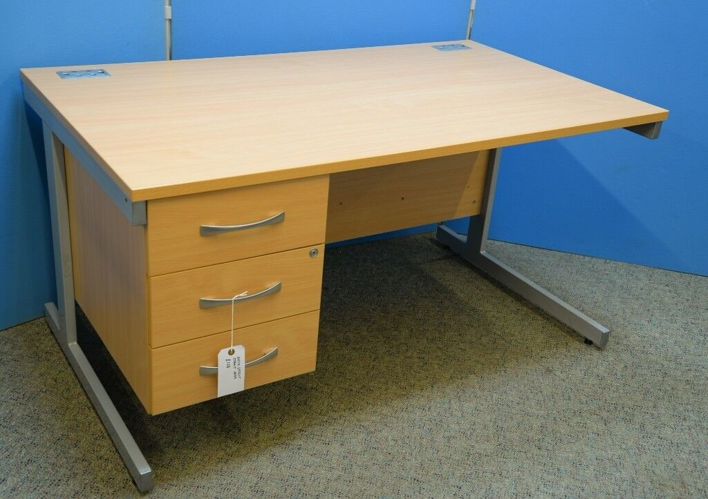 Lots Of Good Quality Used Office Furniture Desks Chairs Storage Filing Cabinets Ect