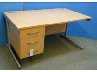 LOTS OF GOOD QUALITY USED OFFICE FURNITURE. DESKS CHAIRS STORAGE & FILING CABINETS ECT