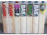 CRICKET BATS PADS GLOVES HELMET FULL KIT NEW used SALE Half Price LMS Whole Package