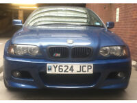 BMW 325ci E46 Convertible (includes M3 Hardtop + Stand + Wind Deflector!)