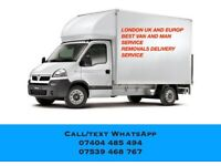 Man And Large/Small Transit Van Removal Service With Furniture Assembly Hire Handyman STORAGE Mover