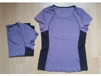 Brand new Ladies Spitsbergen jacket - 2 x M&S active t-shirts