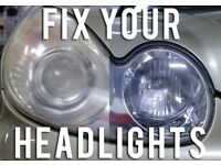 Profesional Mobile Headlight restoration/polishing