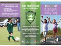 Girls only summer camps!