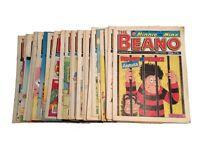 40 BEANO COMICS 1989- 1992