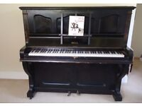 Bell's upright piano