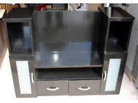 TV unit with storage for satelllite, DVD or games console