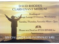 Clairvoyant/Medium Readings