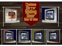 30% OFF Chelsea 2 door full mirror bedroom wardrobe available in five colors Fast delivery UK