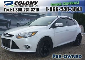 2012 Ford Focus Titanium, Leather, Touch Screen