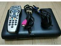 3D Digital SKY HD multiroom box with remote and power leads and cable