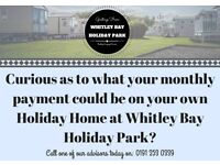 Static Caravans For Sale On 4* Sea Front Park - Whitley Bay North East Coast Stunning Views
