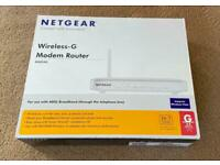 Netgear DG834G Wireless-G Modem Router