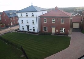 2 double rooms available for lodging in a beautiful 4 bed, 3 story, new build house with driveway