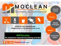 Domestic/End of tenancy and Commercial cleaning. Oven and Carpet Cleaning