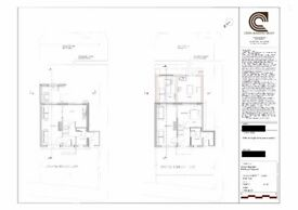 Architectural drawing services - £599 + House extension services - £1600 - £2000 per square metre