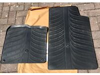 Rubber Car Mats for a 2008 Smart ForTwo