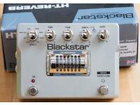 Blackstar HT Valve Guitar Reverb Pedal.