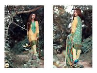 Latest Asian Indian Pakistani unstitched Salwar kameez suit